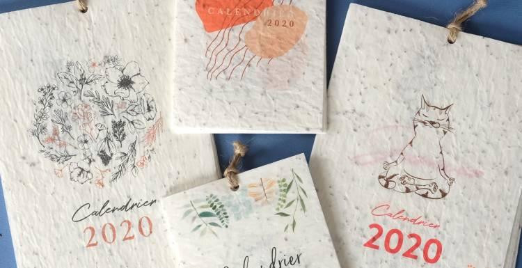 Les calendriers à planter ! | Growingpaper.fr | nouvelles
