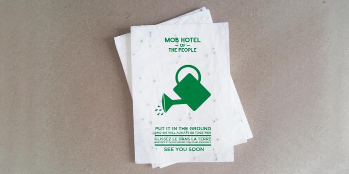 Vos cartes de visites ensemencées
